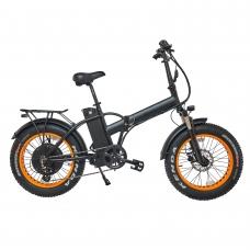 """Электровелосипед FAT BIKE 20"""" HUACH"""" (2021) черный 500 W/48V/14 AH складной"""