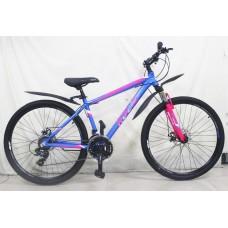 Подростковый велосипед ROLIZ 24 -100 синий/розовый
