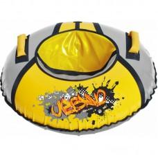 Тюбинг ТБ1КР95 Граффити желтый/серебро ТБ1КР-95