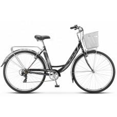 Дорожный велосипед Stels Navigator 395 с корзиной