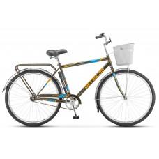 Дорожный велосипед Stels Navigator 300 Gent с корзиной