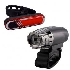 Комплект фонарей Briviga USB Bike Light Set: EBL-2256A + EBL-040