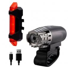 Комплект фонарей Briviga USB Bike Light Set: EBL-2256A + EBL-3402