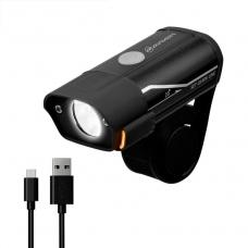 Велофонарь на руль Briviga EBL-3291 USB 400 люмен. Два диода CREE XP-G2, световой поток 400 лм. Встроенный аккумулятор ёмкостью 850 мАч.