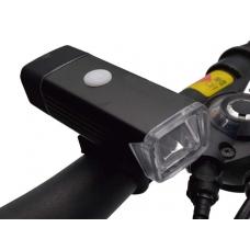 Велофонарь на руль Briviga USB 200 EBL-3301 (EOS 100). Алюминиевый корпус, Cree XP-E, 200 лм. Встроенный аккумулятор 1200 мАч.