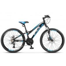 Подростковый велосипед 24 Stels Navigator 460 MD темно-синий