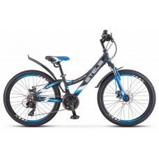 Подростковый велосипед 24 Stels Navigator 440 MD,серый /синий