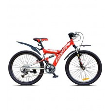 Складной велосипед 24 CUBUS красный/черный