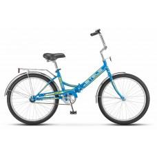 Складной велосипед Stels Pilot 710 цвет: синий