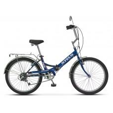 Складной велосипед Stels Pilot 750 цвет: Синий