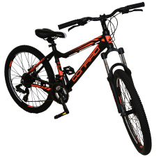 Подростковый велосипед 24 CONRAD EMDEN 3.0 MD Matt Black/Orange