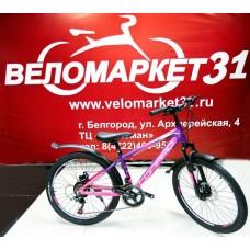 Подростковый велосипед 24 CONRAD MENGEN 18 MD Matt Purple/Pink