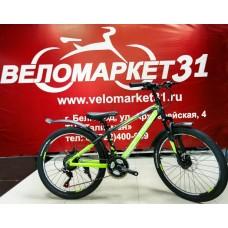 Подростковый велосипед 24 CONRAD MENGEN 18 MD Matt Black/Green