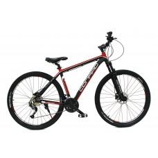"Велосипед 27.5 CONRAD MESSEL 5.0 HD 19"" Black/Red"