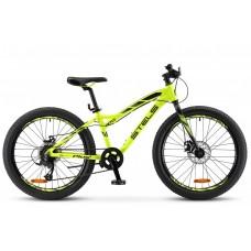 Подростковый велосипед 24 Stels Navigator 470 MD Неоновый лайм