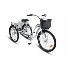 Дорожный велосипед Электровелосипед AJ-EBA 108-F 1000W (черно-зеленый