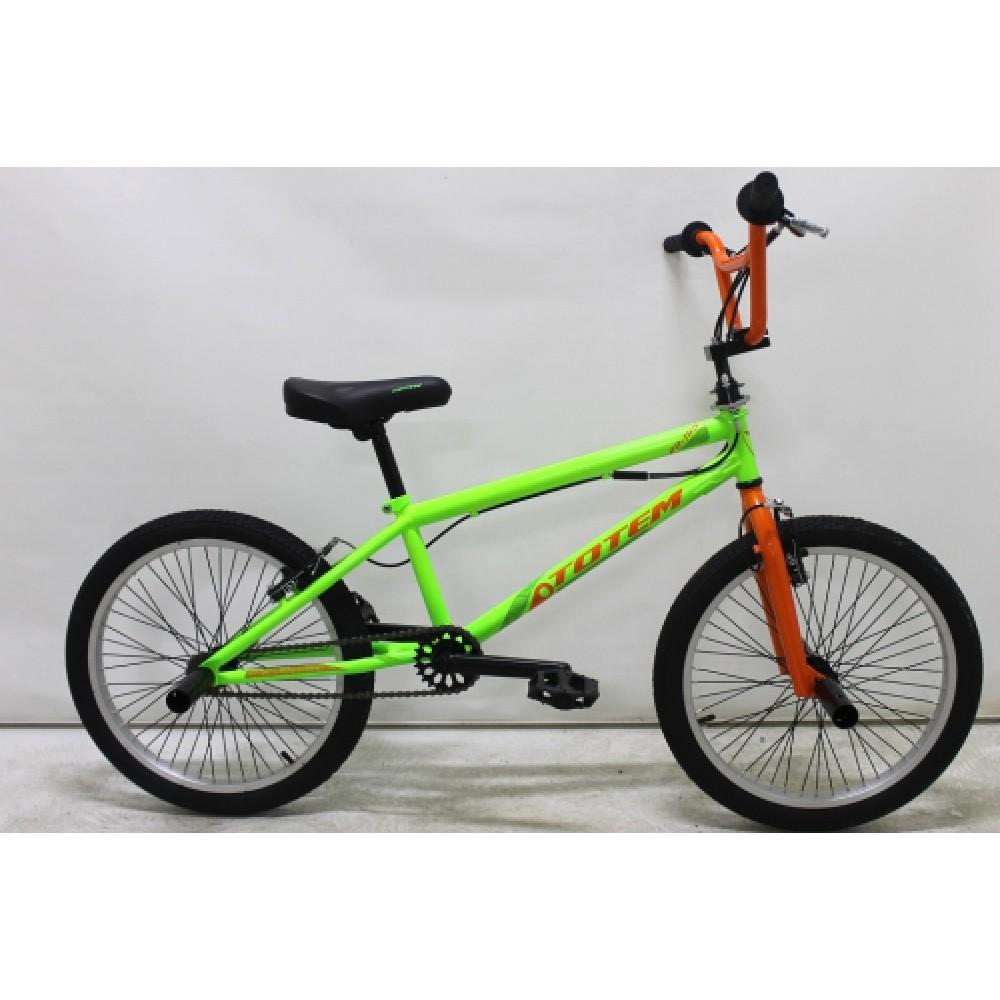 Экстремальный велосипед BMX ROLIZ 20 -110 черный/зеленый