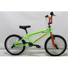 Велосипед BMX ROLIZ 20 -110 черный/зеленый