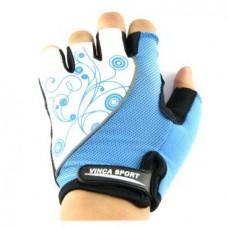 Перчатки VG943 Lady гелевые, ц светло-голубой