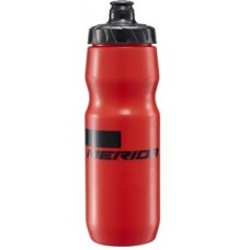 Фляга Merida BOTTLE 0,7л, Black/Red с крышкой