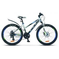 Подростковый велосипед Stels Navigator 470 MD белый/черный