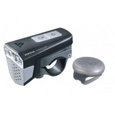 Фара передняя Topeak SoundLite USB с гудком , Black