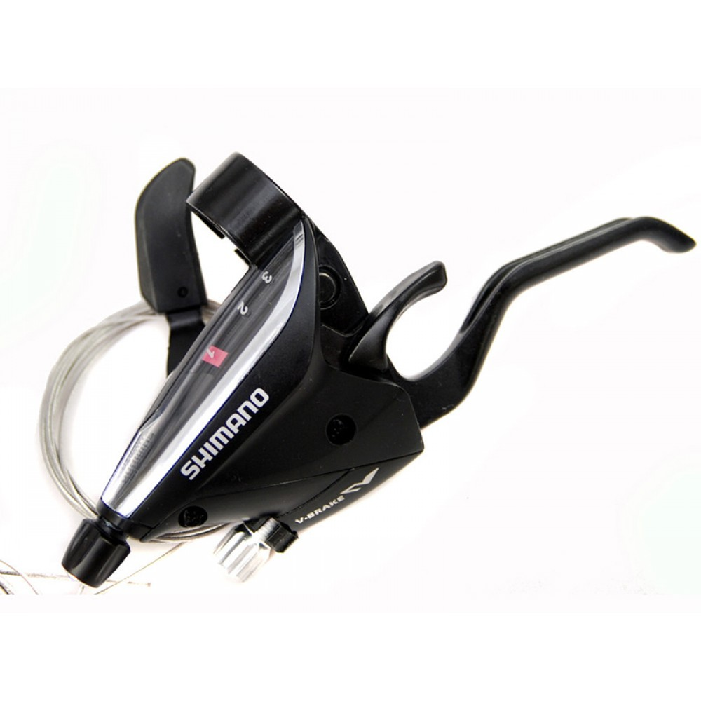 Шифтер с тормозной ручкой Shimano Tourney, EF65