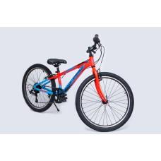Велосипед 24 CONRAD MENGEN 1.0 VBR Matt/Red/Blue