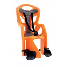 Сидение заднее PepeClamp на багажник, цвет:оранжевый