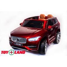 Volvo XC90 красный (краска)