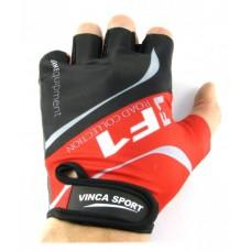 Перчатки VG924 черные с красным